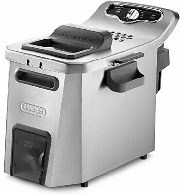 DeLonghi FH 2133 Ideal Fry 0125392024 Friteuse weiss 1700