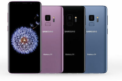 Samsung Galaxy S9 Unlocked G960U GSM+CDMA 64GB AT&T T-Mobile Verizon Unlocked