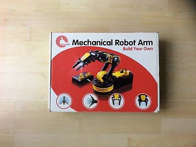 Thumbs Up Build Your Own Robot Arm - New in Box