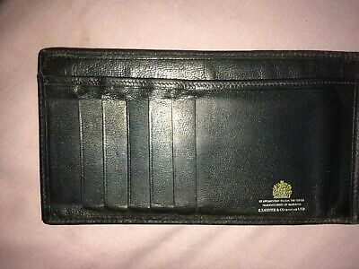 Vintage Harrods Wallet made by Launer & Co.