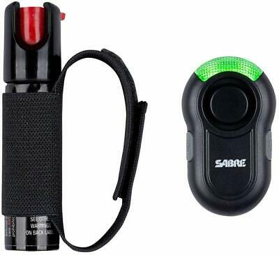 Pepper Gel Spray Personal Alarm With LED Light Adjustable Hand Strap For Runners