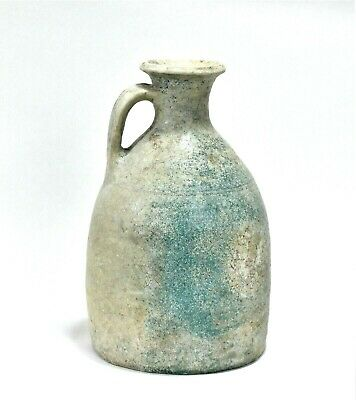 Ancient Parthian Glazed Pottery Jug