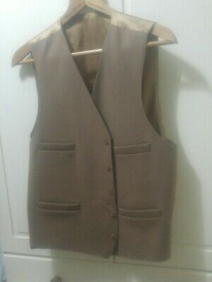 """Pure Wool Waistcoat Hunting Shooting 44"""" chest"""