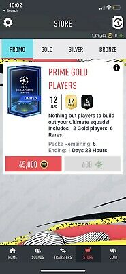 fifa 20 ps4 coins 100k 1.375Million in total