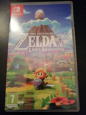 The Legend of Zelda Link's Awakening boxed Nintendo Switch