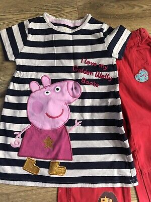 Marks And Spencer And Disney girls outfit age 4-5