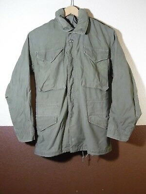 VTG Cold Weather Field Military Jacket Coat XS Regular m-65 style