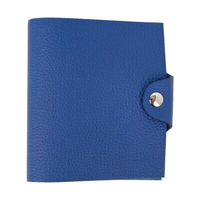 Hermes Ulysse Notebook Cover Blue Electric Mini Model nwt