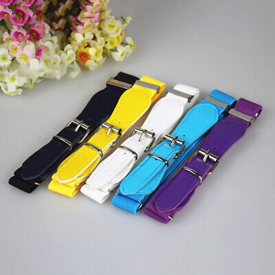 Buckle Belt Children PU Leather Girls Elastic Stretchy PU Leather Infant Boy