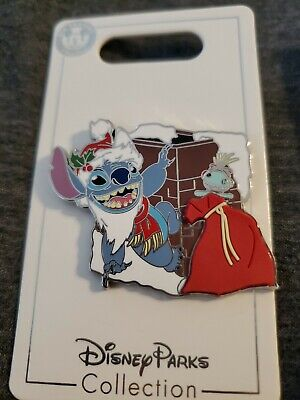 Disney Parks 2019 Christmas Stitch Holiday Pin