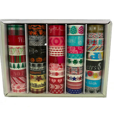 Recollections Holiday Inspired Washi Tape 40 Piece lot