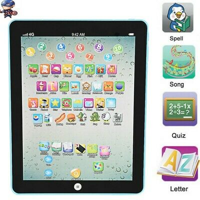 Kids Children TABLET MINI PAD Educational Learning Toy Gift For Boys Girls Baby