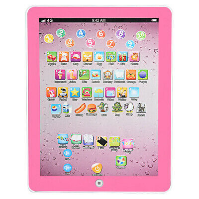 Kids Children TABLET MINI PAD Educational Learning Toys Gift For Boys Girls PINK