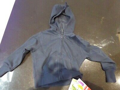 New - Girls Navy School Zipper from Marks & Spence M&S - P.E - Age 2-3years