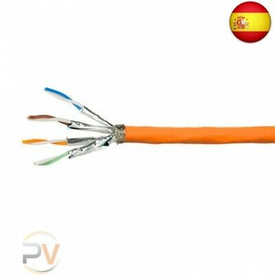 Cable Red S/Ftp Cat7A Logilink 100M Naranja