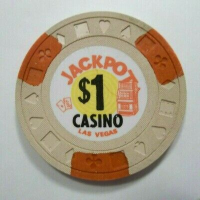 Jackpot Casino Las Vegas Chip Obsolete Nevada Genuine
