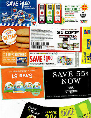 **20** GROCERY ONLY coupons expire 12/31/19 and later