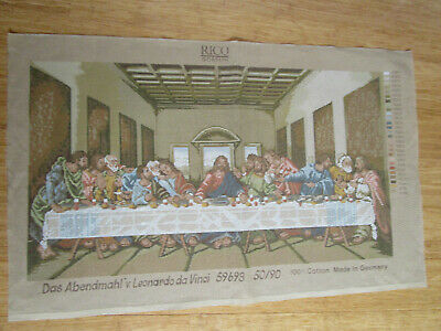 The Last Supper Tapestry Only By Leonardo Da Vinci 50Cms High X 90Cms Wide