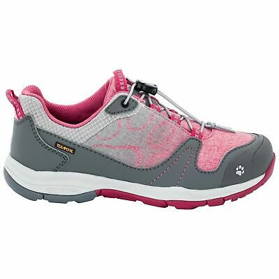 Jack Wolfskin Grivla Waterproof Shoe Girls Camping Hiking Outdoors