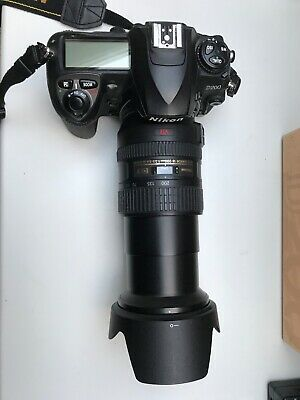 Nikon D200 with Zoom lens