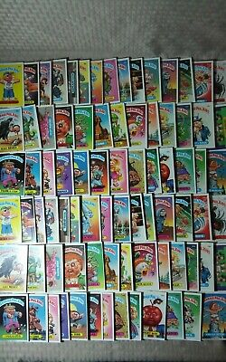 Topps Garbage Pail Kids Series 3 Complete Set 82 Cards 84-124 A+B