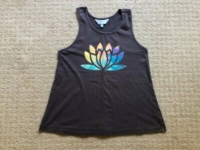 Girls Tilii Singlet Top Size 10 Grey Good condition