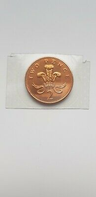 Very Rare 1983 Brilliant Uncirculated 2p. Unreleased Coin Taken From Royal Mint