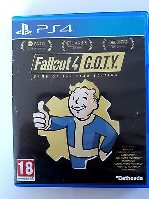 fallout 4 goty game of the year G.O.T.Y. ps4 ps 4 playstation 4 neuf