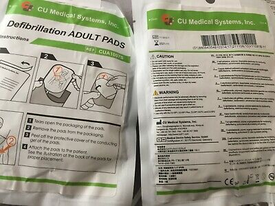 iPad Adult AED Replacement Defibrillator Electrode Pads- 1 Pack exp. 11-21