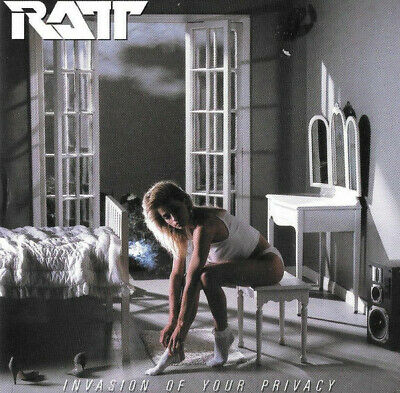 Ratt - Invasion Of Your Privacy (Cd 1985 Remaster 2008 Usa Atlantic Records)