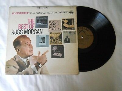RUSS MORGAN the best of LP record / 1221 Vinyl Everest Stereo Record