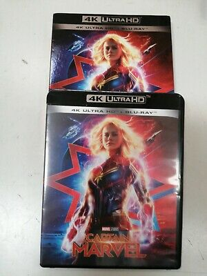 Captain Marvel 4K Ultra HD (2019) 2 Blu Ray