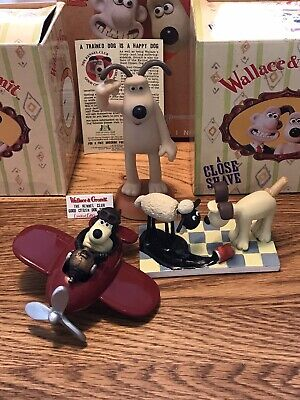 Wallace /& Gromit Biscuit Cookie Tin VGC WH/_9017