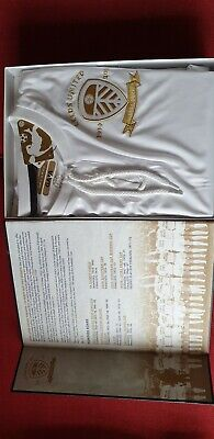 The Ultimate Leeds United Package. Centenary Limited edition Shirt & Book +more