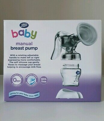 Boots Manual Breast Pump & Bottle