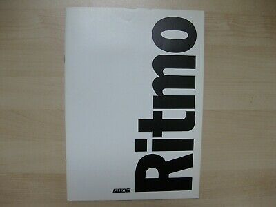 Fiat Ritmo prestige brochure Prospekt Dutch text 24 pages 1978
