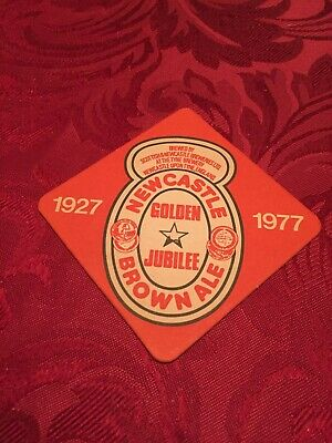 Scottish & Newcastle Brewery- Newcastle Brown Ale - Golden Jubilee 1927 - 1977