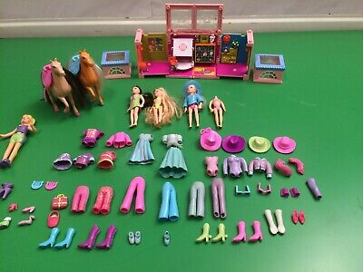 Polly Pocket Dolls Figures and Accessories Lot
