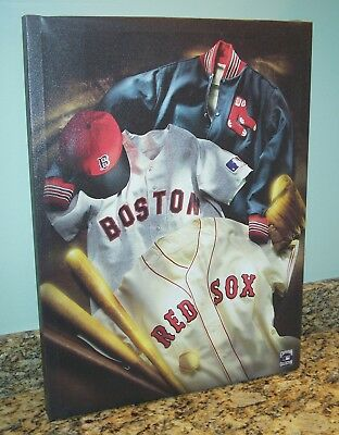 MLB Boston Red Sox Cooperstown Collection Canvas Print Wall Art Large 18x23 SOA