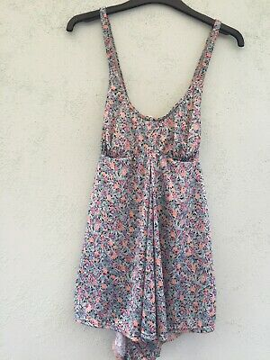Vintage Ladies Lined At Front Swim Skirt Costume Sze S From Mothercare  Blue Mix