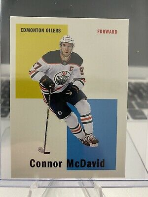 2019-20 TOPPS NOW NHL Week 6 CHASE STICKER Connor McDavid #C2 Edmonton Oilers