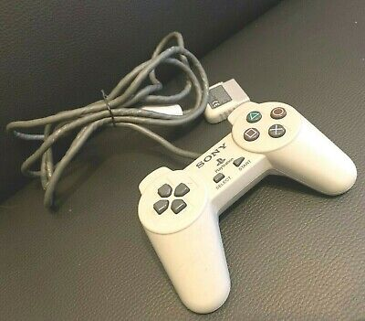 Official Genuine Grey Sony Ps1 Playstation Psone Controller Pad