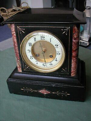 Antique French striking mantel clock