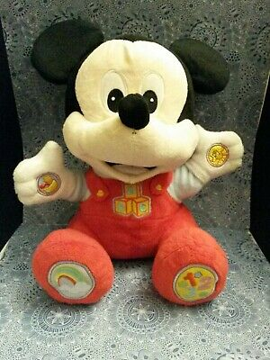 Disney baby - baby Mickey Mouse play and learn soft toy