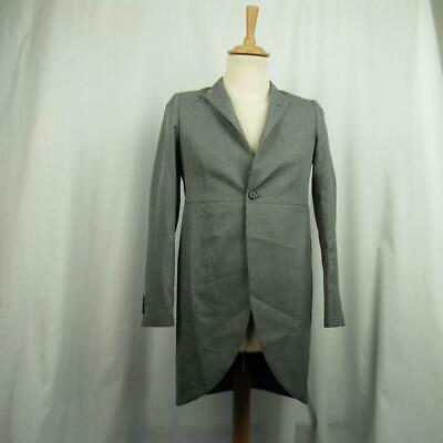 M&S Boy's Grey Long Blazer Autograph Tailcoat Formal Collection 13-14 yrs