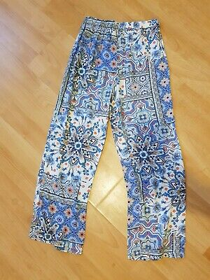 Bnwt Girls Palazzo Trousers Aged 9