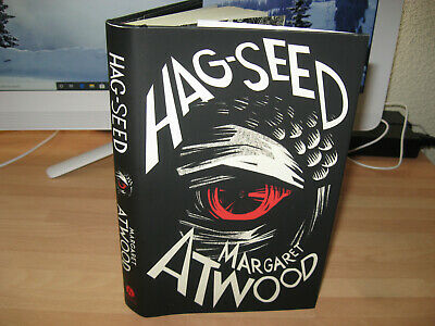 Margaret Atwood Hag-Seed Signed 1st/1st The Tempest Booker Prize Winner author