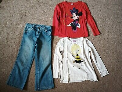 Girls Jeans And Tops Size 6 Years