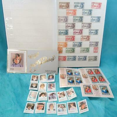 Collectable Stamp Album with a Mixed Collection of Vintage Worldwide Stamps