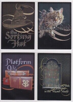 Harry Potter & the Chamber of Secrets, Complete Box Topper Card Set BT1-4